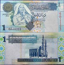 """BILLETE """"  LIBIA    """" 1   DINAR   AÑO  2004  UNC    PLANCHA"""