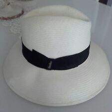 Cappello donna Borsalino TAGLI M ( 57 - 58 CM ) Falda larga 9 cm Panama ddefef1eb5c2
