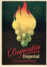 Dujardin Imperial DER WUNDERBARE WEINBRAND - Original Anzeige von 1951