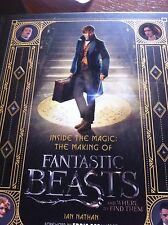 Inside The Magic Making Of Fantastic Beasts And Where To Find Them Hardback Book