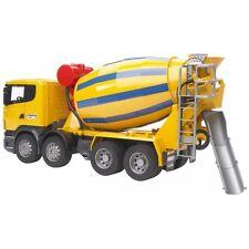 Bruder SCANIA R-Serie Betonmischer-LKW 4 Achsen 03554 Baufahrzeug Lastwagen