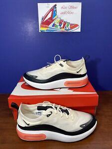 RARE Women's Nike Air Max Dia Sneakers AR7410-101 Pale Ivory/Black/White Size 10
