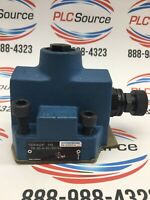 MANNESMANN REXROTH  DR 20-4-45/100YM PILOT OPERATED HYDRAULIC PRESSURE REDUCING