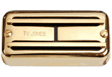 TV Jones Super'Tron Universal Mount Gold Bridge Pickup For Electric Guitar STB-U