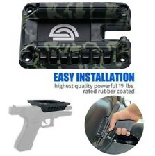 Camo Magnetic Gun Mount Handgun Concealed Firearm Accessories For Truck Car Desk