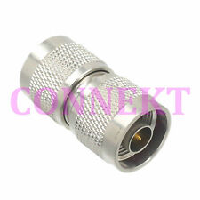 1pce N male plug to N male plug in series RF coaxial adapter connector