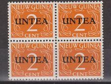 Indonesia West Nieuw Guinea 21 blok sheet MNH PF UNTEA New Guinea 1963
