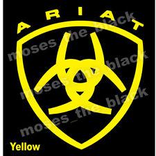 ARIAT Decal, Vinyl Sticker, western style cowboy, H.Q.Vinyl - colour variations
