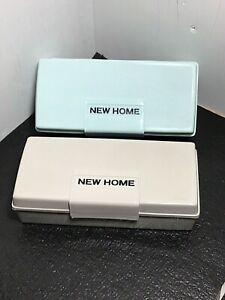 Vintage New Home Sewing Machine Accessory Storage Box Color Choice
