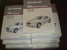 2008 Lexus GS350 GS460 Repair Manual 7 Volume Set GS 350 GS 460 Shop Service OEM
