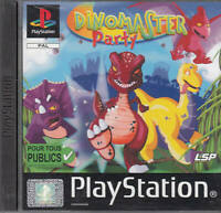 DINOMASTER PARTY Videogioco PS1 PlayStation PAL ITA - B12