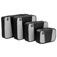 Travel Packing Cubes - 4 Set Lightweight Travel Luggage Packing Organizers