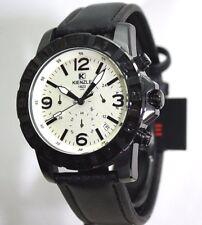 KIENZLE  Herrenuhr Chronograph Schwarzes Armband Wasser abweisend 10BarW.R.