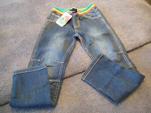 girls Frugi jeans aged 7-8 years BNWT!