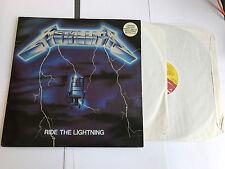 METALLICA - RIDE THE LIGHTNING 2 LP - 1984 UK MUSIC FOR NATIONS MFN 27 VG/VG