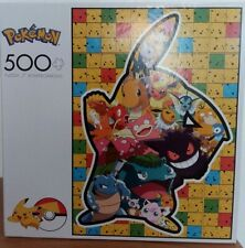 NEW Pokemon Pikachu & Friends Puzzle 500 Pieces  FREE SHIPPING