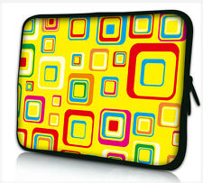 "17-17,3"" LAPTOP SLEEVE CARRY CASE BAG 4 ALL LAPTOPS, FREE POST *YELLOW SQUARE*"