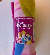 ~ Disney Princess - BLANKET GENUINE DISNEY LISENCED POLAR FLEECE THROW BED Day