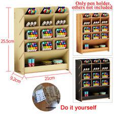 Pen Pencil Holder Storage Rack Box Container Desk Storage Stationery Organizer