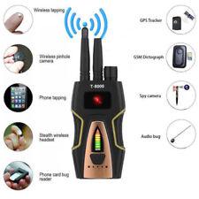 T8000 RF Signal Detector Anti Spy Wifi Camera GSM Audio Bug Finder GPS Detector