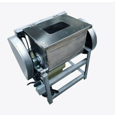 110V 15kg Commercial Electric Dough Mixer Kitchen Mixing Machine w/ Visible Lid