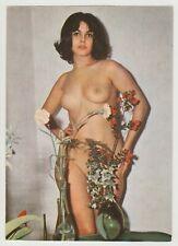Postcard Pinup Risque Nude DAILY GIRL PRESS Original Vintage '68 RARE Card 10688