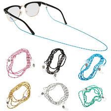 Metal Chain Holder Reading Glasses Eyeglass Sunglasses Cords Straps Strings