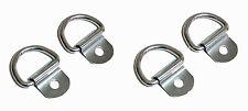 "4 Pack Steel D-Ring 1/8"" Diameter loop for Truck Trailer ATV   2150"