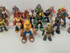 Rescue Heroes Mattel Fisher Price Action Figures  Lot of  20 Billy Blazes ect...