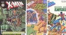 X-MEN N° 1-2-3- COMME NEUF- AVEC BANDEAU-RARE.1995.LA TRIPLÈTE.1995