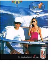 PUBLICITE ADVERTISING  1999   COCA-COLA  LIGHT soda