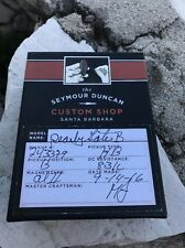 Seymour Duncan Custom Shop Billy Gibbons BFG Pearly Gates Bridge Pickup Clear T