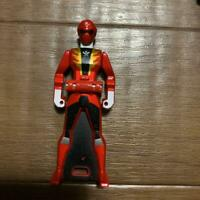 POWER RANGERS Super Megaforce GOKAIGER Ranger key Gokai Red Metallic BANDAI Toy