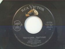 """JOHNNY RESTIVO """"THAT'S GOOD THAT'S BAD / I CAN'T TAKE IT"""" 45"""