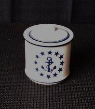 Sugar Bowl With Us Vintage Us Navy Insignia