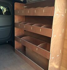 RENAULT TRAFIC LWB CREW CAB (2015>), Van Plywood Shelving,Van Plywood Racking