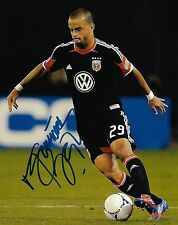 Dc United Maicon Santos Autographed Signed 8x10 Photo Coa C