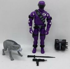 Black Major Custom Snake Eyes Cobra Haze Invasor With Wolf