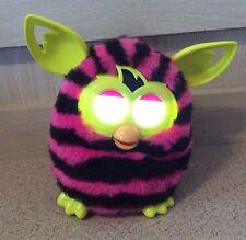 2012 Hasbro Pink & Black Stripes Furby