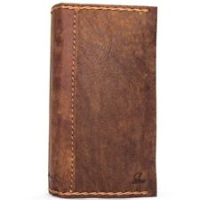 genuine real leather Case for iPhone 8 vintage cover credit cards slots luxury R