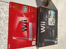 Lot Pack Console  NINTENDO WII PACK MARIO KART 25EME ANNIVERSAIRE Rouge