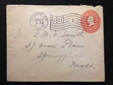 """1900  MONTPELIER, VERMONT UNITED STATES COVER WITH FANCY """"AMERICAN"""" CANCEL !"""