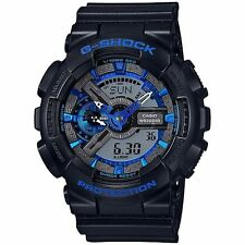 Casio G-Shock Mens Wrist Watch GA110CB-1A GA110CB-1ACR Blue/Black Analog-Digit