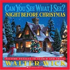 Can You See What I See?: The Night Before Christmas: Picture Puzzles to Search a