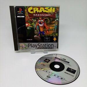 Crash Bandicoot - Platinum Version - Sony PlayStation 1 - PS1
