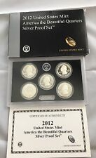 United States Mint, America The Beautiful Quarters Silver proof Set 2012