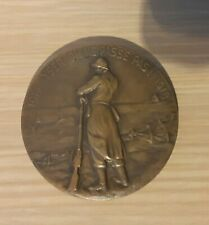 WO I Medaille 1914 1918 Vuurkruiser voorkant FR achterkant VL WW I