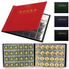 240 Cases Album Pièces Monnaie Médaille Classeur Housse Etui Poche Collection