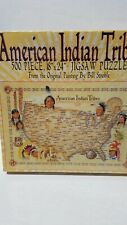 Jigsaw puzzle Ethnic Native American Indian Tribes 500 piece NEW