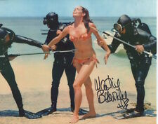 Martine Beswick Photo Signed In Person - James Bond - C92